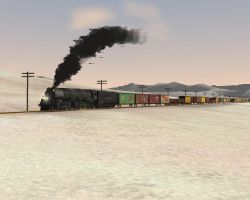 MSTS Mixed Frieght by 736berkshire