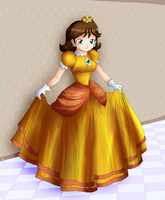 :old art: Princess Daisy by Hero-of-Awesome