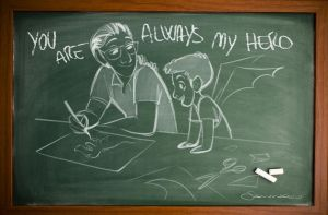 You are always my hero by nicolasammarco
