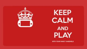 Keep Calm and Download The Wallpaper (PS VITA) by GYNGA