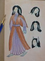 Character Reference Sheet: Halaina by Hestia-Edwards