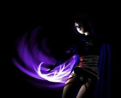 Raven 3D by DungeonQueen by teentitans