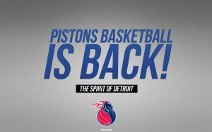 Detroit Pistons Wallpaper by IshaanMishra