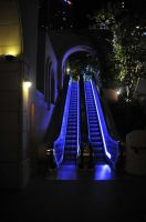 Los Angeles Grand Street Escalator by AndySerrano