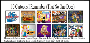 Top 10 Shows I Remember (That no One Else Does) by PerfectZanderSanchez