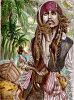 Jack On Stranger Tides by ghostyheart