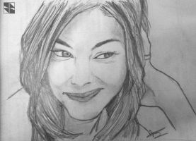 Sketch Likeness 3 : Michelle Monaghan by flitlog