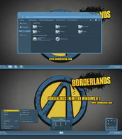 Borderlands Theme For Windows 8.1 by Cleodesktop