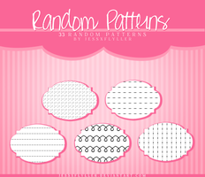 Random Patterns by JessxFlyller