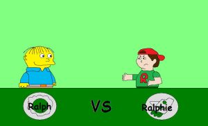 Ralph vs Ralphie by hmcvirgo92