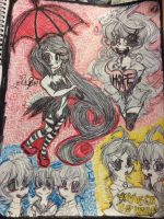 Pen drawings by lennychibikagamine