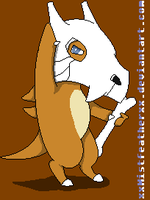 Pokemon Mystery Dungeon - Cubone - Nostalllgiiaaaa by snug-glasses