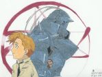 Reflection -Alphonse Elric- by o0bubbleheadz0o
