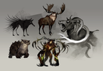 Enemy concepts by znodden