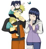 Naruhina's twins by mathina