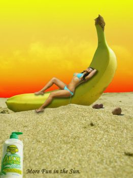 Banana Boat Composite Ad by kaiserinkat