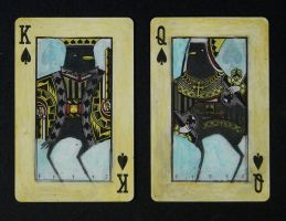 Crow King and Queen: Spades by SethFitts