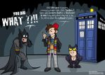 BuzzComics.net 's Pinup of Nov 13 : Doctor Who by Satanisapunk