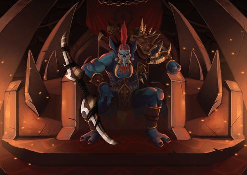 New Warchief Vol'Jin ftw :) by Rithinor