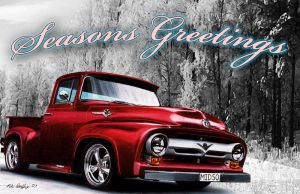Colored Pencil X-mas Card 07 by theGaffney