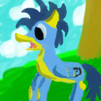 my first art in sai by MegaSupertacoman-YT