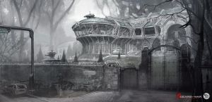 Misty Mansion by M-Wojtala
