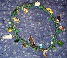 Green Goddess Spirit Cord by Lolair