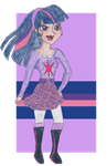 MLP FiM Humans: Twilight Sparkle by TheGirlOnXboxLive