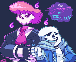 Spoopy Bros. by Bahnloopi