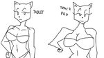 Comparison (TABLET VS TRACK PAD) by TheIcedWolf