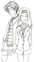 Lily and James - HP by lberghol