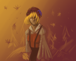 TOUHOU -- Seasonal Change by static-mcawesome