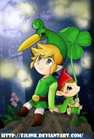 Minish Cap Link 2 by FJLink