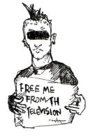 Free me from th television by muskawo