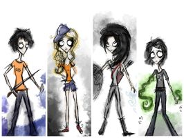 Demigod Crew by Mrs-Lovett-da-Pirate