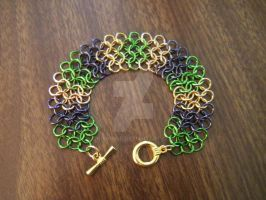 Loki Inspired Chainmail Bracelet by KRRouse