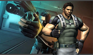 Chris Redfield wallpaper MvsC by redfield37