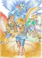 Golden Sun by Mercurio2539