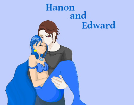 Hanon and Edward by darkdraik