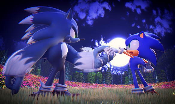 MMD Sonic The Werehog Preview2 by 495557939