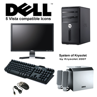 My Dell system by krysolet