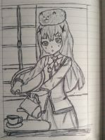 Is The Order a Rabbit? Chino Doodle by LordDiscord25