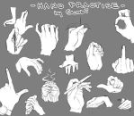 ::HAND PRACTISE 5:: by Suobi-chan