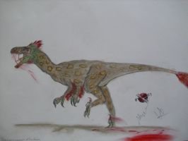 JP-Expanded   Dromaeosaurus by Teratophoneus
