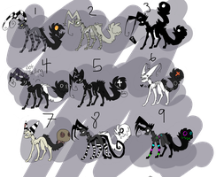 9 Adopts by Silhouett3s