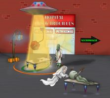 Hospital for monsters by manla