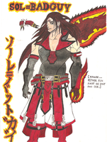 guilty gear sol badguy by demonjester55