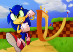 [Collab] Green Hill Zone by TarrotCake