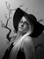 In Black And White by Lovely-LaceyAnn-Art