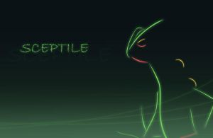 Sceptile Wallpaper by All0412